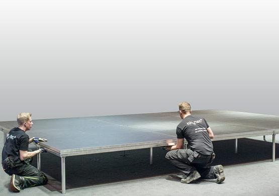 Nivtec Bühnenpodest 2x1m